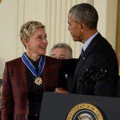 Ellen DeGeneres : En larmes à cause d'Obama mais réconfortée par De Niro...