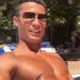 Cristiano Ronaldo, selfie lors de ses vacances, photo Instagram, été 2016.