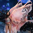 Lais Ribeiro- Défilé de mode de Victoria's Secret 2015 à la Lexington Avenue Armory à New York, le 10 novembre 2015.