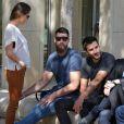 """"""" Jeny Priez et son compagnon Luka Karabaticau tribunal correctionnel de Montpellier le 15 juin 2015 """""""