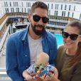 Nikola Karabatic et sa compagne Géraldine Pillet posent sur Instagram avec leur fils Alek.
