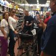 Mariah Carey au supermarché à Hawaï - Photo Instagram publiée le 24 novembre 2016.