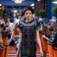 """Sonia Ben Ammar lors du défilé Chanel """"Métiers d'Art 2016/2017"""" à l'hôtel Ritz à Paris le 6 décembre 2016. © Olivier Borde / Bestimage"""