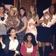 Marine Lorphelin, Laury Thilleman, Rachel Legrain-Trapani, Malika Ménard, Valérie Bègue et Flora Coquerel étaient toutes réunies pour célébrer les 30 ans d'Alexandra Rosenfeld, samedi 26 novembre à Paris. Celle qui fut élue Miss France 2006 est née le 23 novembre.