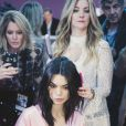 Kendall Jenner - Coulisses du défilé Victoria's Secret 2016 au Grand Palais. Paris, le 30 novembre 2016. © Cyril Moreau/Bestimage