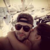 Mélanie et Bastien (Secret Story 10), amoureux : Tendres baisers en Guadeloupe