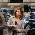 Jennifer Lopez et Ray Liotta sur le tournage de 'Shades Of Blue' à New York, le 5 octobre 2016