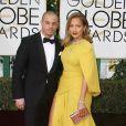 Jennifer Lopez et son compagnon Gasper Smart à La 73ème cérémonie annuelle des Golden Globe Awards à Beverly Hills, le 10 janvier 2016