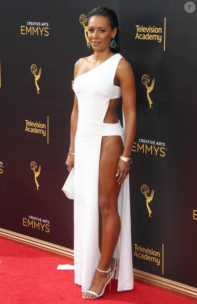 Melanie Brown (Mel B) à la 68ème soirée Creative Arts Emmy Awards au théâtre Microsoft à Los Angeles, le 10 septembre 2016