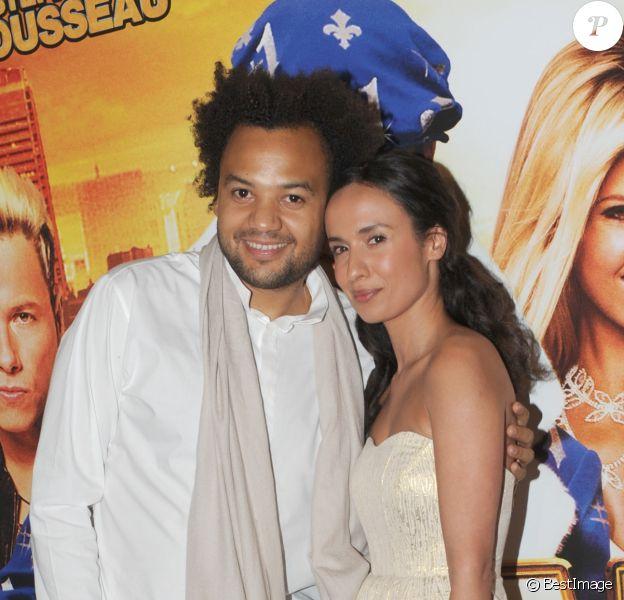 """FABRICE EBOUE ET AMELLE CHAHBI - PREMIERE DU FILM """"FATAL"""" AU GRAND REX A PARIS 14/06/2010"""