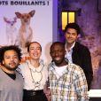 Archives - Fabrice Eboué, Amelle Chahbi, Thomas N'Gijol - Jamel Debbouze et certains membres du Jamel Comedy Club seront les voix françaises du délirant 'Le Chihuahua de Beverly Hills' de Disney à Paris en 2009.