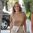 Kristin Cavallari se promène avec une amie à West Hollywood le 29 juillet 2016.