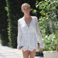 Kristin Cavallari fait du shopping dans les rues de West Hollywood, le 26 juillet 2016.