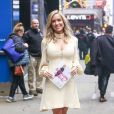 "Kristin Cavallari arrive à l'émission ""Good Morning America"" à New York le 15 mars 2016. © CPA/Bestimage"