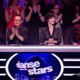 """Fauve Hautot, Jean-Marc Généreux, Marie-Claude Pietragalla, Chris Marques - demi-finale de """"Danse avec les stars 7"""", samedi 10 décembre 2016, sur TF1"""