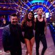 """Chris Marques, Karine Ferri et Yann-Alrick Morteuil - demi-finale de """"Danse avec les stars 7"""", samedi 10 décembre 2016, sur TF1"""