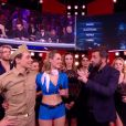 """Camille Lou et Grégoire Lyonnet - demi-finale de """"Danse avec les stars 7"""", samedi 10 décembre 2016, sur TF1"""