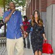 Lamar Odom et Khloe Kardashian à New York le 20 juin 2012