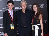 Michael Douglas : Entouré de ses enfants Dylan et Carys pour une soirée étoilée