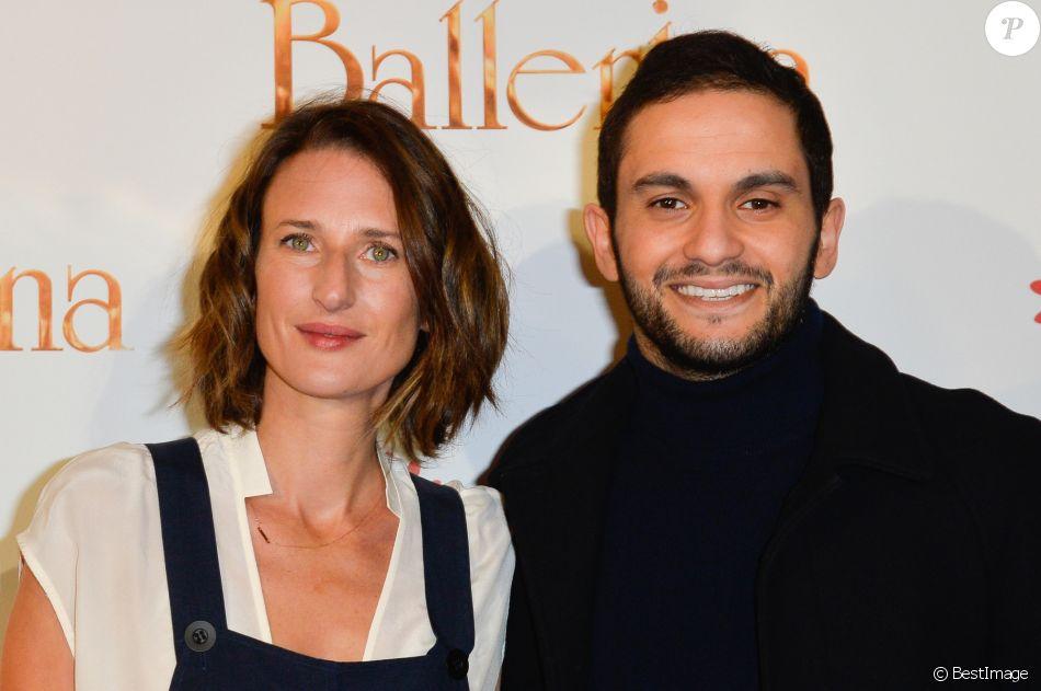 """Camille Cottin et Malik Bentalha - Avant-première du film """"Ballerina"""" au Gaumont Opéra à Paris Le 27 novembre 2016 © Guirec Coadic / Bestimage"""