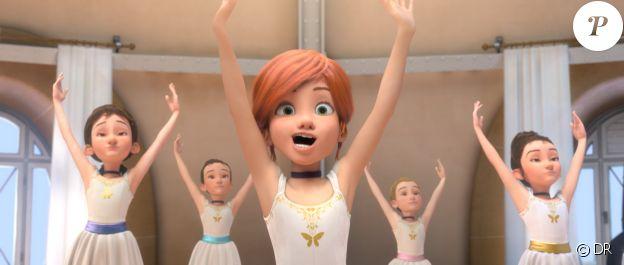 Camille Cottin double le personnage de Félicie dans Ballerina. En anglais, c'est Elle Fanning