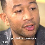 """John Legend déçu par le comportement de Kanye West : """"C'était un coup de pub"""""""