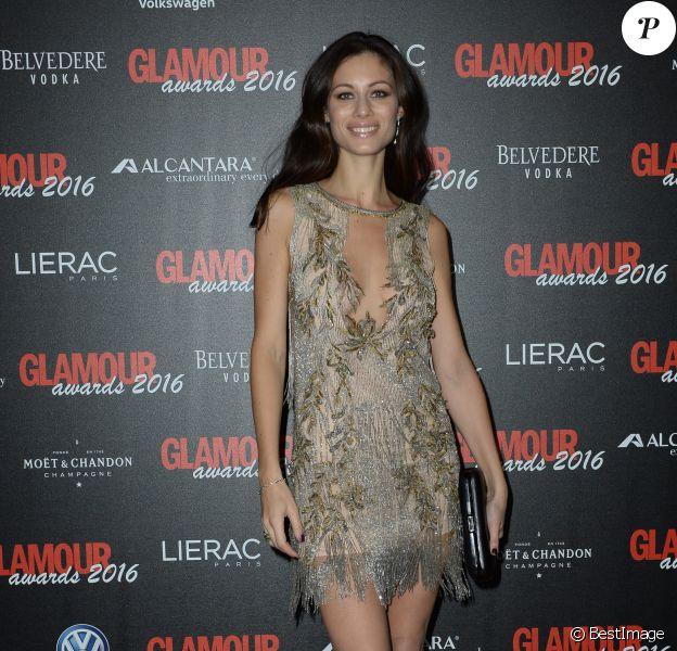 Marica Pellegrinelli (épouse du chanteur Eros Ramazzotti) assiste Glamour Awards 2016 du magazine Glamour Italia à Milan, le 14 décembre 2016.