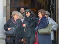 Zabou Breitman : Digne devant ses enfants pour les obsèques de son père