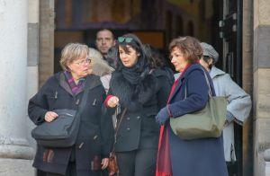 zabou breitman digne devant ses enfants pour les obsques de son pre julie andrieu - Photos Mariage Julie Andrieu Stephane Delajoux