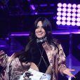 """Camila Cabello du groupe Fifth Harmony à la Soirée """"Z100's Jingle Ball 2016"""" au Madison Square Garden à New York, le 9 décembre 2016."""