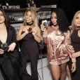 """Lauren Jauregui, Dinah Jane Hansen, Normani Hamilton et Ally Brooke du groupe Fifth Harmony à la Soirée """"Z100's Jingle Ball 2016"""" au Madison Square Garden à New York, le 9 décembre 2016."""