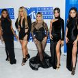 Le groupe Fifth Harmony (Ally Brooke, Normani Kordei, Dinah Jane Hansen, Camila Cabello et Lauren Jauregui) la soirée des MTV Video Music Awards 2016 à Madison Square Garden à New York, le 28 août 2016 © Mario Santoro/AdMedia via Zuma/Bestimage