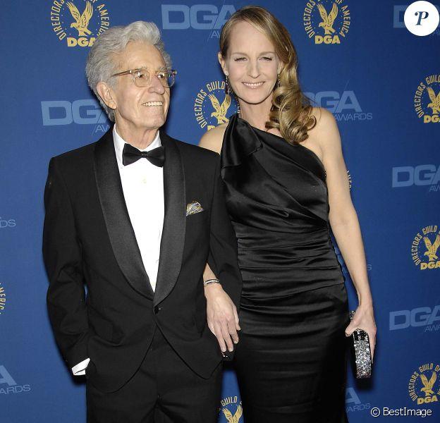 "Gordon Hunt et Helen Hunt - 65eme cérémonie des ""Directors Guild of America Awards"" (DGA) à Hollywood, le 2 fevrier 2013."