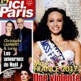 """Couverture du magazine """"Ici Paris"""" en kiosque le 21 décembre 2016"""