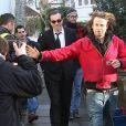 Tournage de 'Nine' à Londres : Daniel Day-Lewis