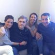 """""""Pierre Ménès pose avec sa compagne Mélissa sur Facebook en juin 2016."""""""