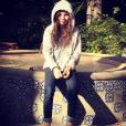 Axelle Laffont en vacances à Los Angeles avec sa fille Mitty.