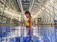 Iris Mittenaere (Miss France 2016) divine en bikini... à l'aéroport de Doha !