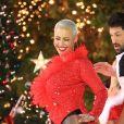 Amber Rose danse devant le public lors de l'émission 'Dancing With The Stars' à The Gove à Hollywood, le 22 novembre 2016