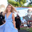 Sveva Alviti lors de la soirée d'ouverture du 71e festival international du film de Venise, la Mostra, le 27 août 2014.