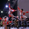 """""""Membres des Choeurs de l'Armée rouge en représentation à Alger, Algérie, le 24 juin 2013."""""""