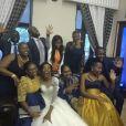 Mariage de l'athlète Caster Semenya et Violet Raseboya, à Pretoria, le 7 janvier 2017