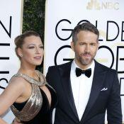 Ryan Reynolds et Blake Lively : Couple divin et roi des Golden Globes 2017