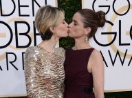 Sarah Paulson : Baiser tendre avec Amanda Peet avant de rafler le Golden Globe