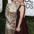 Sarah Paulson, Amanda Peet - La 74ème cérémonie annuelle des Golden Globe Awards à Beverly Hills, le 8 janvier 2017.