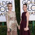 Sarah Paulson et Amanda Peet - La 74ème cérémonie annuelle des Golden Globe Awards à Beverly Hills, le 8 janvier 2017.