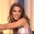 """""""Miss France 2017 recadrée par Miss France2016, le 6 janvier 2017 dans """"Quotidien"""" sur TMC."""""""