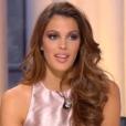"""Miss France 2017 recadrée par Miss France2016, le 6 janvier 2017 dans """"Quotidien"""" sur TMC."""