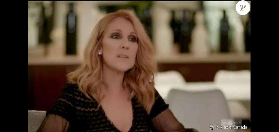 Céline Dion répond à Josélito pour Ici Radio Canada. Janvier 2017