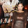 """Christina Milian (wardrobe malfunction) - Avant-première du film ""Live By Night"" (""Ils vivent la nuit"") au Chinese Theatre à Hollywood, Los Angeles, le 9 janvier 2017."""